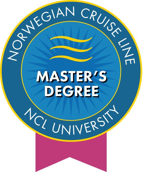Norwegian Cruise Line Masters Degree