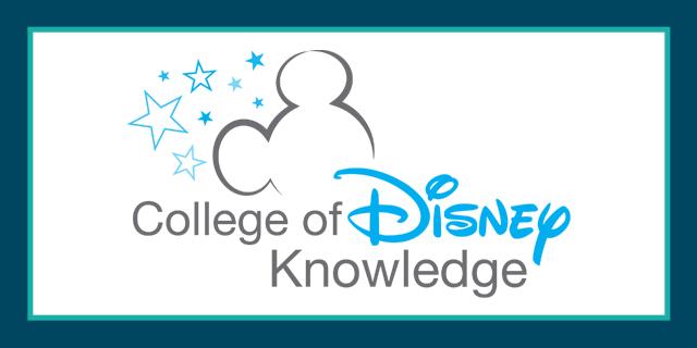 College of Disney Knowledge Graduate